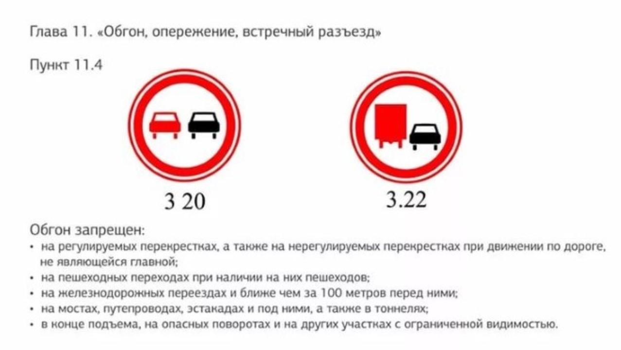 Нарушение правил обгона: штраф КоАП РФ